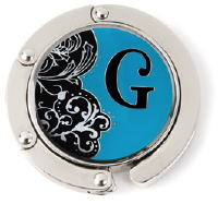 """G"" Monogram Hang Em' High Purse Hanger"