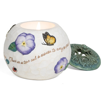 "Comfort In Bloom Heaven 3.5"" Candle by Pavilion Gift"