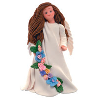 Friendship - Kneeded Angels Figurine