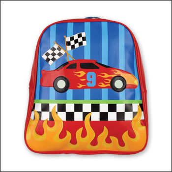 Stephen Joseph Race Car Go Go Backpack