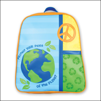 Stephen Joseph Earth Peace Go Go Backpack