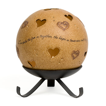 Love Pierced Heart by Comfort Candles