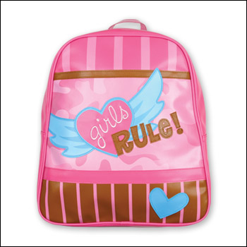 Stephen Joseph Girls Rule Go Go Backpack