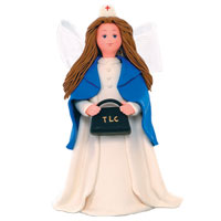 Nurse Figurine- Kneeded Angels