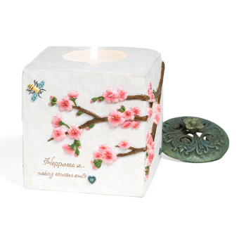 Comfort In Bloom Happiness Candle by Pavilion Gift