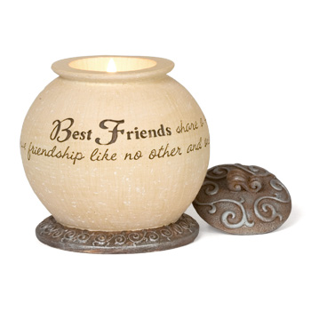 Comfort to Go Best Friends Candle by Pavilion Gift - Disc