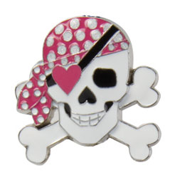 Finders Key Purse Girly Pirate Key Finder