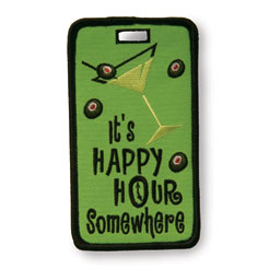 Finders Key Purse Happy Hour Not Just A Luggage Tag