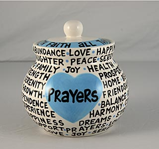 Our Name is Mud Prayers Jar