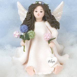 Hope Barefoot Angel by Kneeded Angels