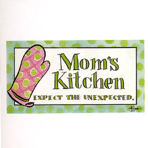 Mom's Kitchen High Cotton Funny Bar Towels