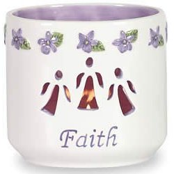 Waxcessories Faith Message Votive