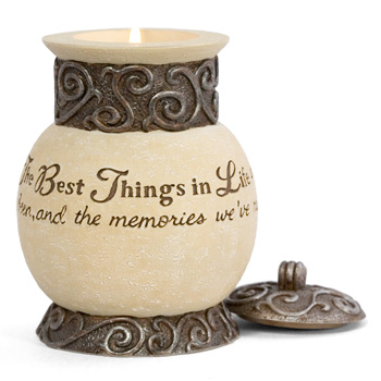Comfort to Go Best Things in Life Candle by Pavilion Gift