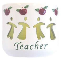 Waxcessories Teacher Message Votive