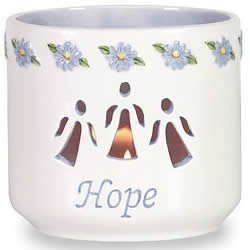 Waxcessories Hope Message Votive