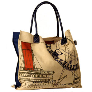 Authentic Models Steamer Tote Bag