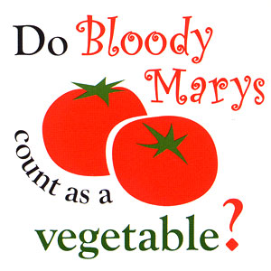 Do Bloody Marys Count As A Vegetable High Cotton Funny Bar Towels