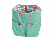 Room It Up Polka Dots Reversible Beach Tote