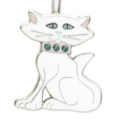 White Cat Finders Key Purse Key Finder - Discontinued