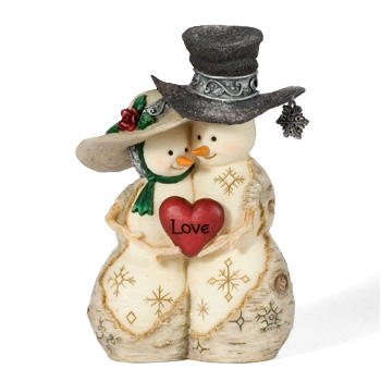 "The Birchhearts 4"" Love Ornament by Pavilion Gift"