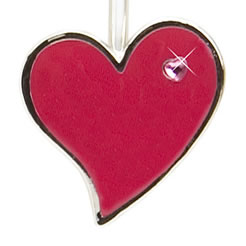 Funky Heart Finders Key Purse Key Finder