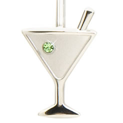 Finders Key Purse Martini Glass Key Finder