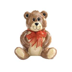 Waxcessories Ceramic Teddy Bear Bank