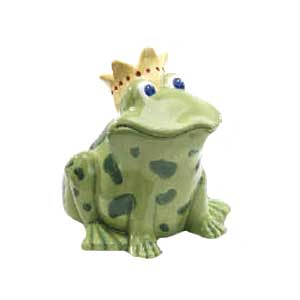 Waxcessories Ceramic Frog Prince Bank