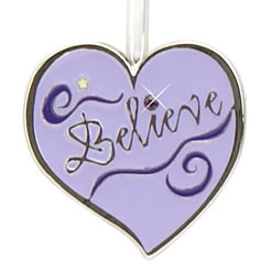 Believe Heart Finders Key Purse Key Finder