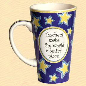 Tumbleweed Teachers Make the World a Better Place Tall Coffee Mug