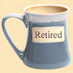 Retired Tumbleweed Classic Word Oversized Coffee Mug