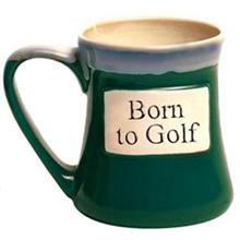 Born to Golf Tumbleweed Classic Word Oversized Coffee Mug