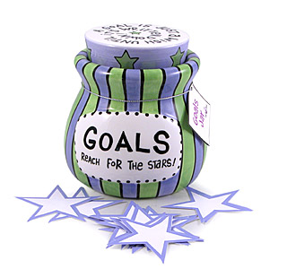 Our Name is Mud Goals Jar