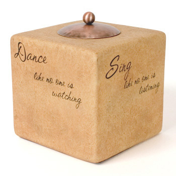 """Comfort Candle - Living 4"""" Square"""