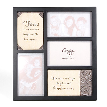 Comfort to Go Friends Collage Frame by Pavilion Gift