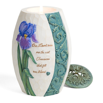 Comfort In Bloom Treasures of the Heart Candle by Pavilion Gift