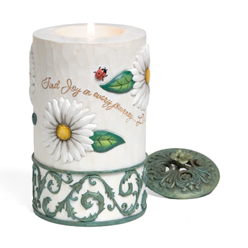 Comfort In Bloom Journey of Life Candle by Pavilion Gift