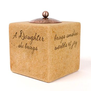 """Comfort Candles Daughter 3.5"""" Square"""