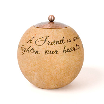 "Comfort Candles Friend 4.5"" Round"