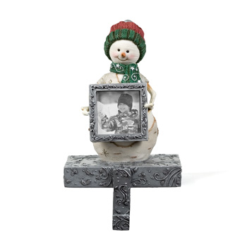 """The Birchhearts 4.5"""" Snowkid Stocking Holder by Pavilion Gift"""