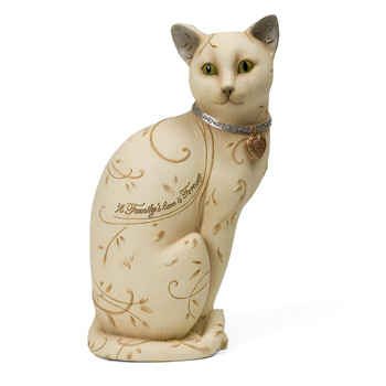 "Elements Family Cat 8"" Figurine by Pavilion"