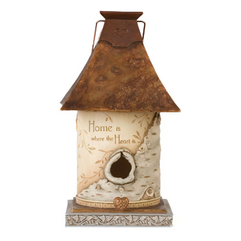 Elements Home is where the Heart Is Decorative Birdhouse by Pavilion