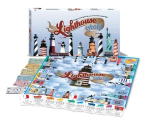 Lighthouse-Opoly Board Game
