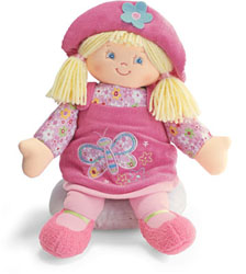 "Gund 13"" Blonde Kristen Doll"