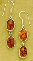 Charles Albert Sterling Silver & Amber Collection