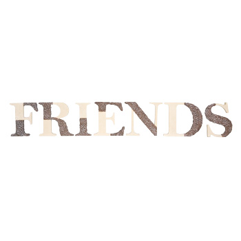 Comfort to Go Friends Freestanding Letters by Pavilion Gift