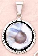 Mabe Blister Pearl Pendant