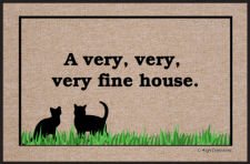 Very, Very, Very Fine House Doormat-Discontinued