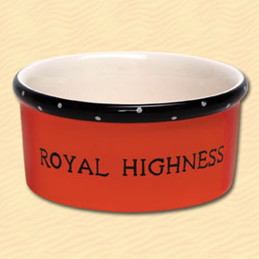 Tumbleweed Royal Highness Pet Bowl