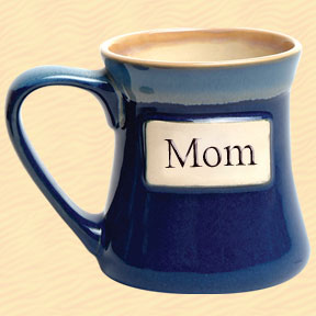 Mom Tumbleweed Classic Word Oversized Coffee Mug